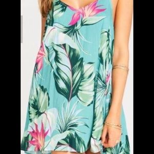 Mumu Tortuga tie dress